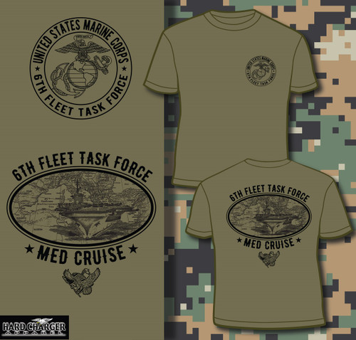 Marine Corps Med Cruise T-shirt