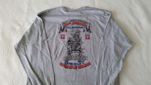 82nd Airborne Division 100th Anniversary Long Sleeve T-shirt