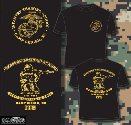 Infantry Training School - Camp Geiger, NC Long sleeve T-shirt