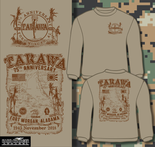 Tarawa 75th Anniversary Fort Morgan crewneck sweatshirt