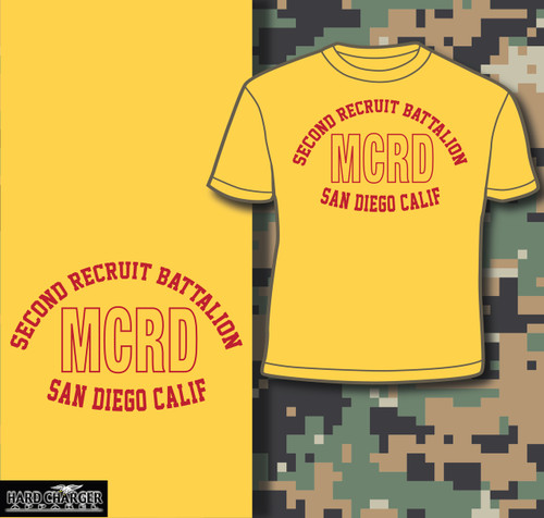 MCRD San Diego 2nd Recruit Battalion T-shirt