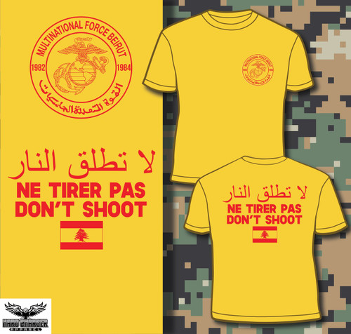 Beirut Bombing Multi-National Force T-shirt