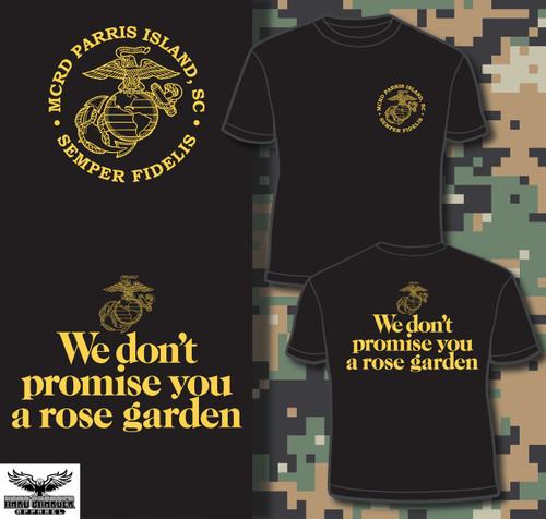Parris Island Recruit Depot Rose Garden T-shirt