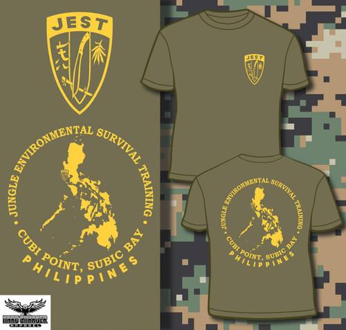 Marine Corps JEST School Philippines Long Sleeve T-shirt