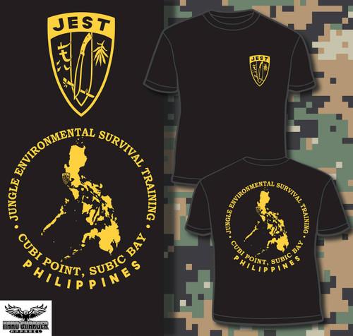 Marine Corps JEST School Philippines Hooded Sweatshirt