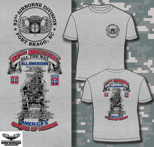 82nd Airborne Division Fort Bragg, NC T-shirt