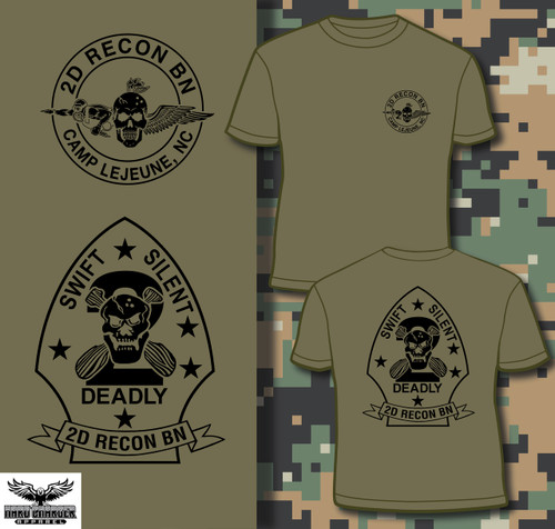 2D Recon BN Camp Lejeune T-shirt