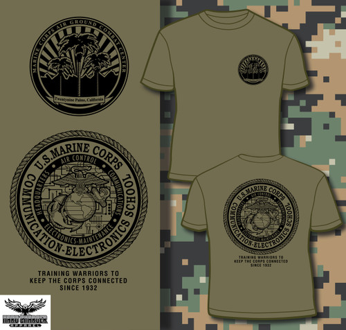 Comm School Twentynine Palms, CA T-shirt
