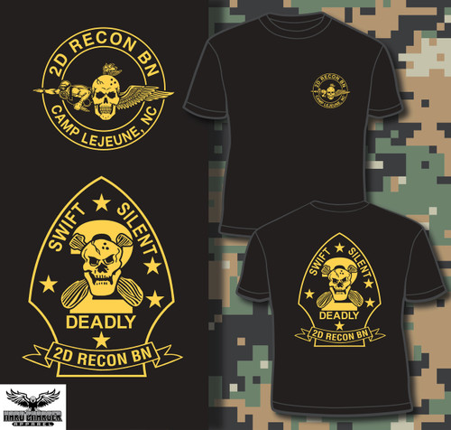 2D Recon BN Camp Lejeune Long Sleeve T-shirt