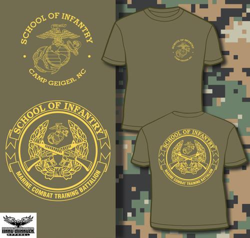 School of Infantry Camp Geiger Hood new