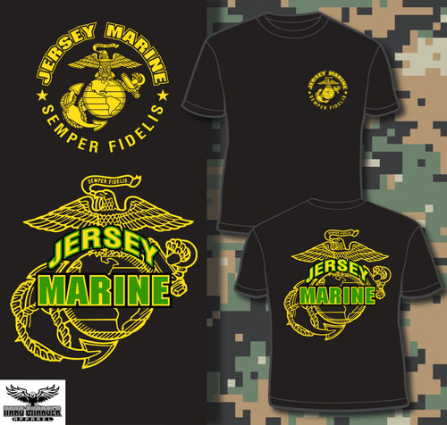 New Jersey Marine T-shirt