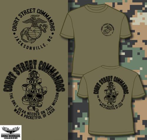 Camp Lejeune Court Street T-shirt