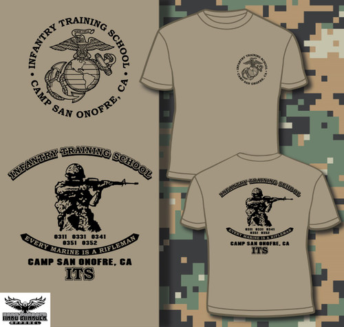 Infantry Training School - Camp San Onofre, CA Long Sleeve T-shirt