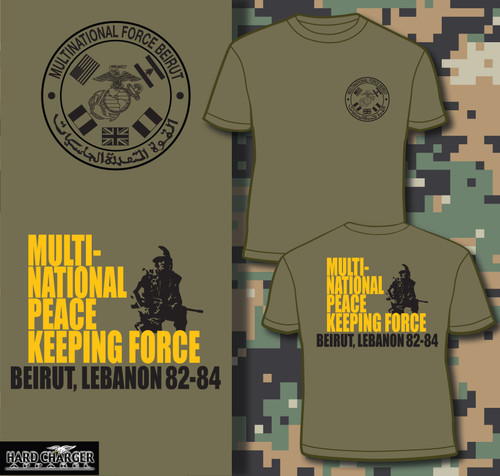 Beirut - Multi-National Peace Keeping Force 1 Long Sleeve T-shirt