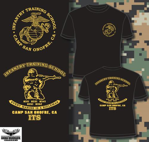 Infantry Training School - Camp San Onofre, CA Crewneck Sweatshirt