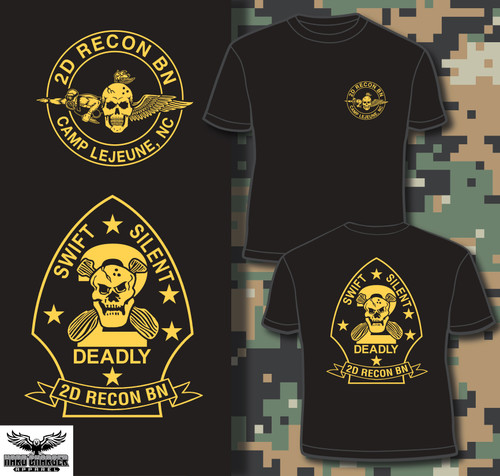2D Recon BN Camp Lejeune Crewneck Sweatshirt
