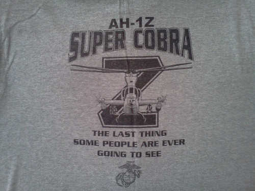 AH-1Z Cobra helicopter Long Sleeve T-shirt
