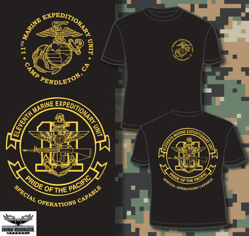 11th Marine Expeditionary Unit (11th MEU) T-shirt