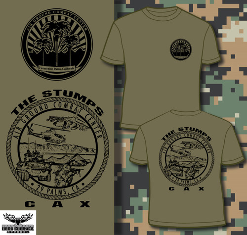 CAX - Combined Arms Exercise 29 Palms, CA T-shirt