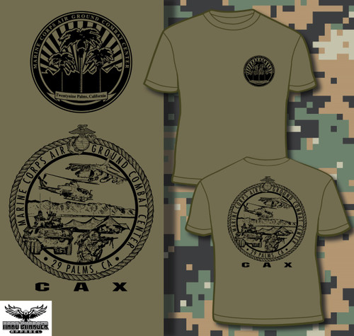 CAX - Combined Arms Exercise 29 Palms, CA Long Sleeve T-shirt