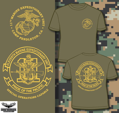 11th Marine Expeditionary Unit (11th MEU) Long Sleeve T-shirt