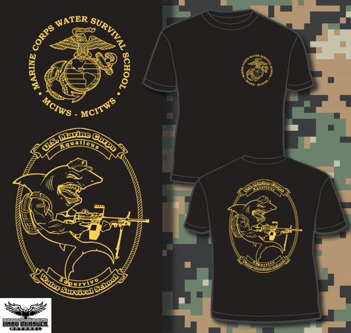 Water Safety Survival Instructor and Trainer T-shirt