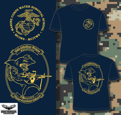 Water Safety Survival Instructor and Trainer LONG SLEEVE T-shirt