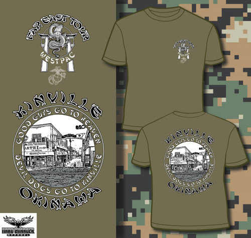 Kinville, Okinawa LONG SLEEVE T-shirt