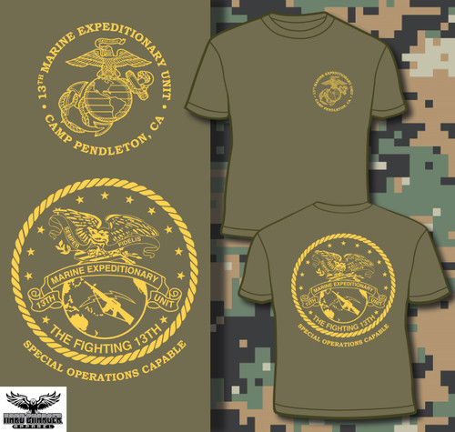13th Marine Expeditionary Unit 13th MEU LONG SLEEVE T-shirt