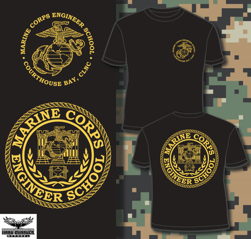 Marine Corps Engineer School, Courthouse Bay LOMG SLEEVE T-shirt