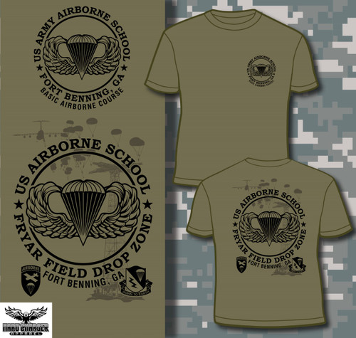 Airborne School, Fort Benning, GA T-shirt