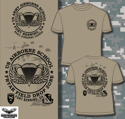 Airborne School, Fort Benning, GA LONG SLEEVE T-shirt