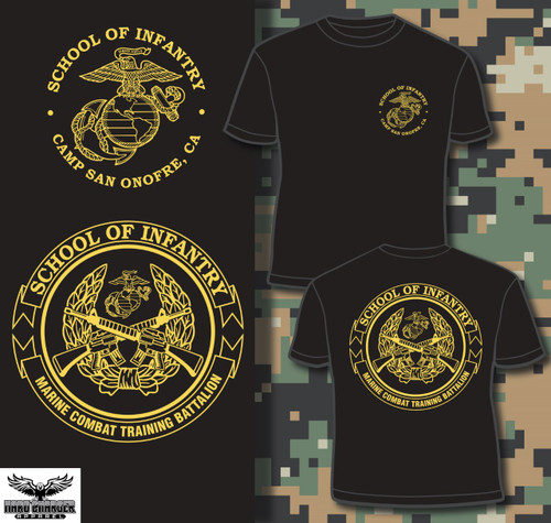 School of Infantry Camp San Onofre T-shirt