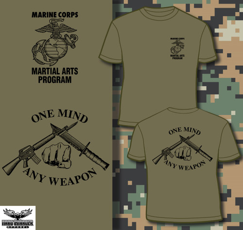 Marine Corps Martial Arts Program LONG SLEEVE T-shirt