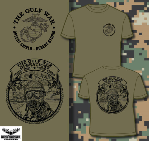 Operation Desert Shield - Desert Storm 30 Year Anniversary USMC T-shirt