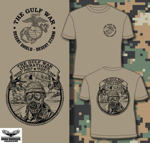 Operation Desert Shield - Desert Storm 30 Year Anniversary Long Sleeve T-shirt