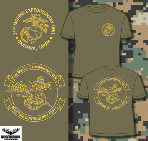 31st Marine Expeditionary Unit (31st MEU) Okinawa Long Sleeve T-shirt