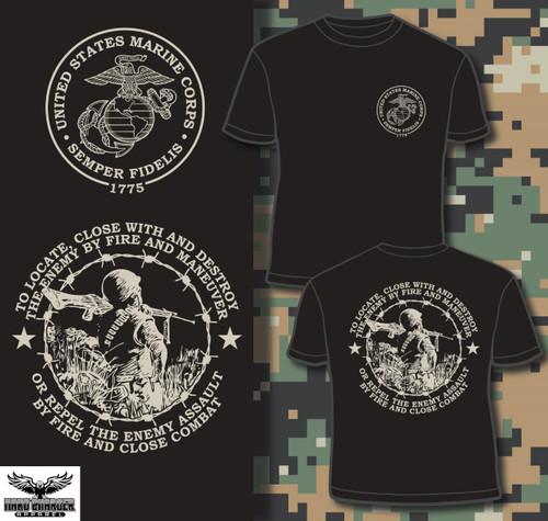 Marine Corps mission T-shirt