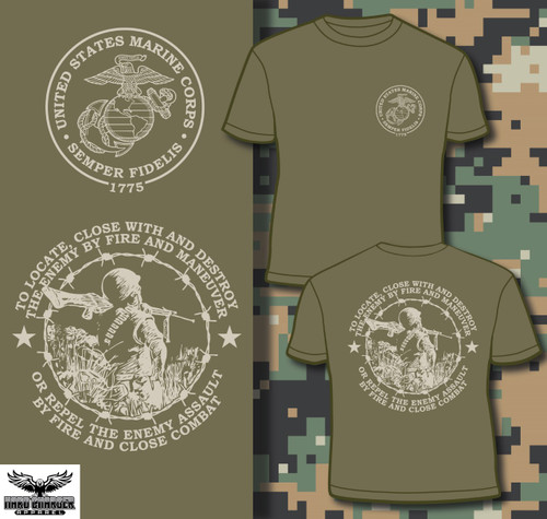 Marine Corps mission Long Sleeve T-shirt