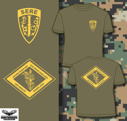 SERE School NTA Camp Gonsalves Okinawa Long Sleeve T-shirt