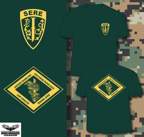 SERE School NTA Camp Gonsalves Okinawa Crewneck Sweatshirt