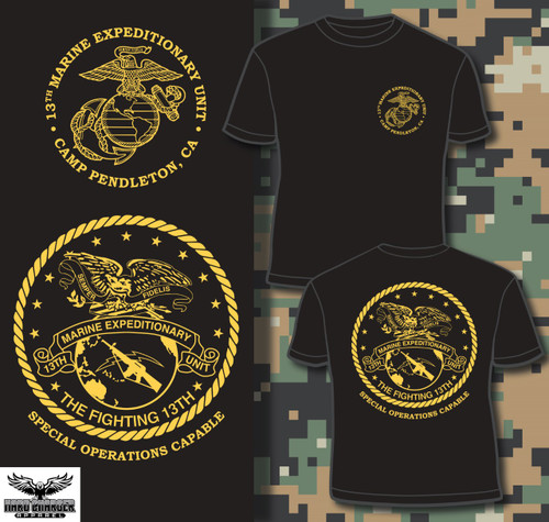 13th Marine Expeditionary Unit 13th MEU Crewneck Sweatshirt