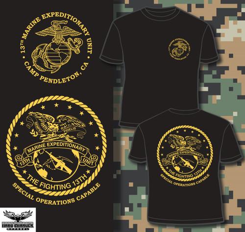 13th Marine Expeditionary Unit 13th MEU Crewneck Sweatshirt