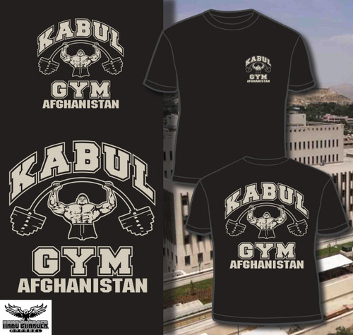 Kabul Gym Afghanistan Long Sleeve T-shirt
