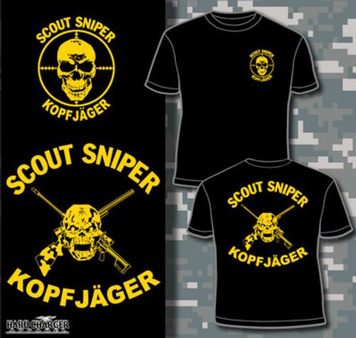 Scout Sniper Kopfjager T-shirt