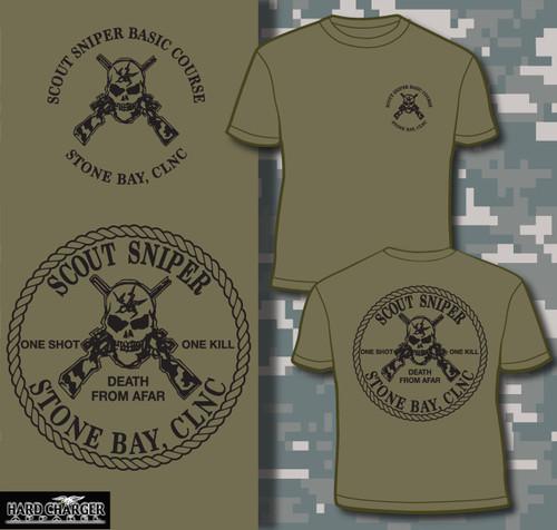 Scout Sniper School Camp Lejeune Long Sleeve T- Shirt