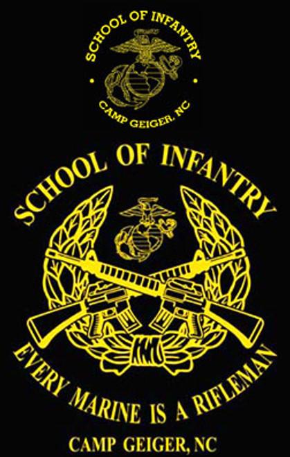 School of Infantry, Camp Geiger, NC Crewneck Sweatshirt