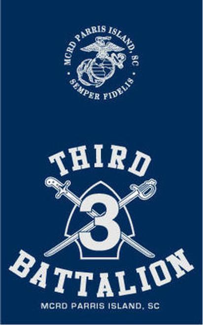 Parris Island 3rd Recruit Battalion T-shirt