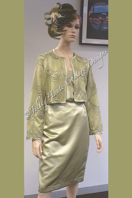 Jacket & Skirt Front