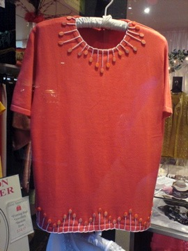 Orange Short Sleeve Jumper